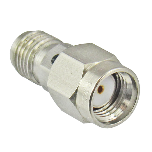 C9205 SMA/Male Reverse Polarity to SMA/Female Coaxial Adapter Aternative View Centric RF