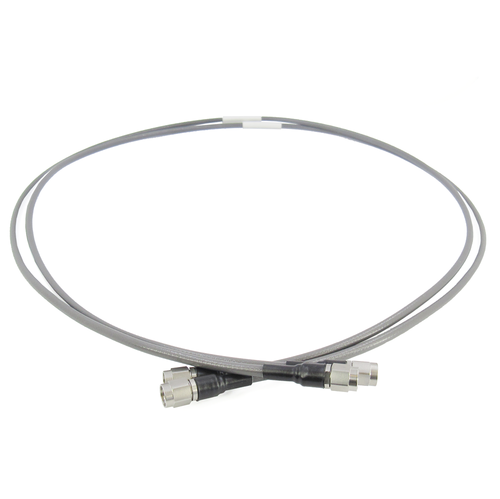 C548-110-48P2 Phase Matched Cable Pair 2.92mm 40ghz VSWR 1.3 Max 48in Flexible Low Loss Phase Stable over Temp/Flex