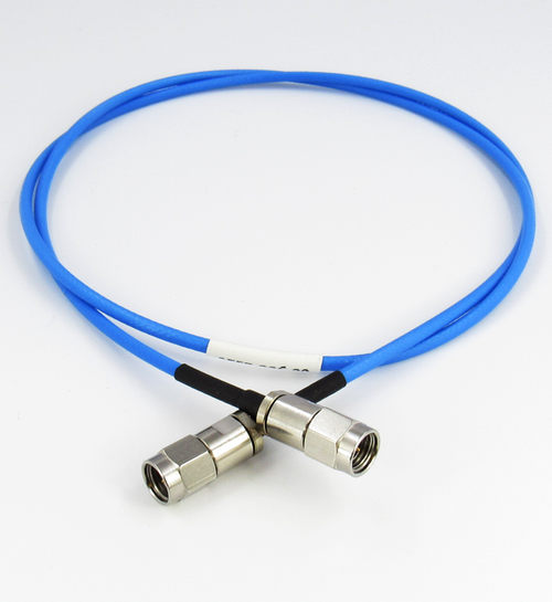 C557-086-06 2.92/Male to 2.92/Male Flexible 6 inch Cable Centric RF