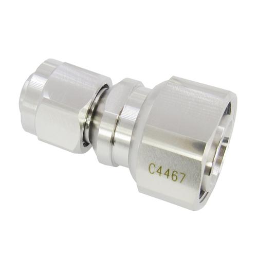 C4467 2.2-5 Male to 4.3/10 Male Adapter 0-6 GHz PIM 160DBC VSWR 1.2