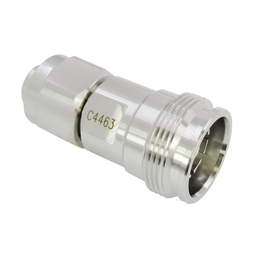 C4463 2.2-5 Male to 4.3/10 Female Adapter 0-6 GHz PIM 160DBC VSWR 1.2