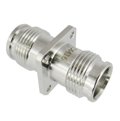 C4416 2.2-5 Female to Female Flange Adapter 0-6 GHz PIM 160DBC VSWR 1.2