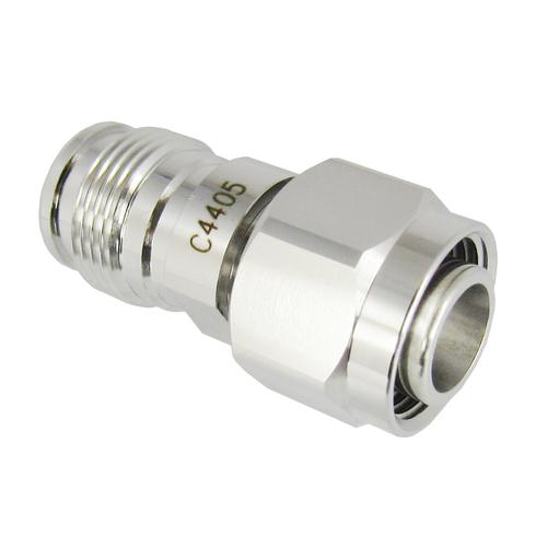C4405 2.2-5 Male to Female Adapter 0-6 GHz PIM 160DBC VSWR 1.2