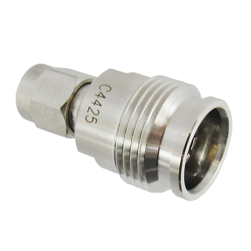 C4425 2.2-5 Female to SMA Male Adapter 0-18 GHz VSWR 1.2