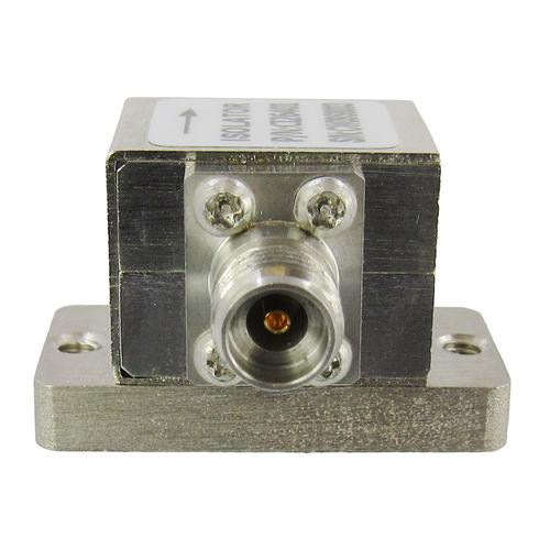 CI26401 Isolator 2.92mm Female 26-40Ghz VSWR 1.6 10 Watt Clockwise