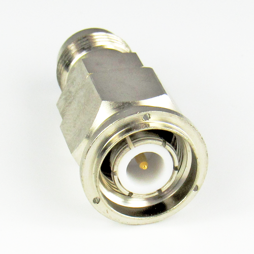 C2552  TNC Adapter 11Ghz Male to Female  VSWR 1.3 Ni Plated Brass