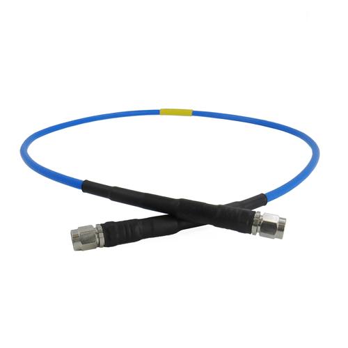 C593-141-XX SMA Test Cable M/M Flexible 27Ghz VSWR 1.25 141 Cable
