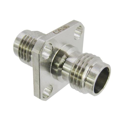 C7536 2.4mm Female to 2.4mm Female Flange Adapter VSWR 1.2 50Ghz