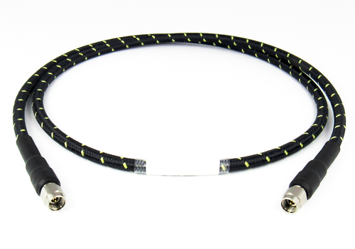 C558-213-48 2.92mm Low Loss Phase Stable Test Cable with Aramid Jacket Centric RF