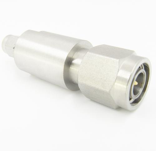 C2689 SMA Male to TNC Male Adapter 18Ghz VSWR 1.15 S Steel