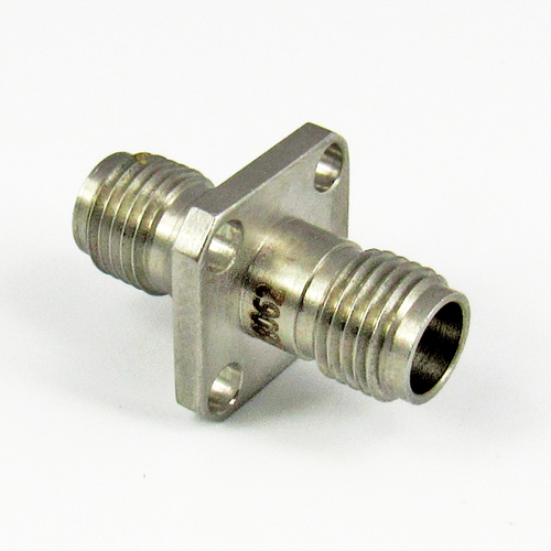 C8062 1.85mm Flange Adapter Female to Female Centric RF