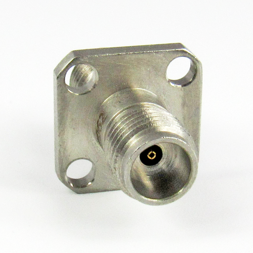 C8062 1.85mm Flange Adapter Female to Female 65Ghz VSWR 1.33