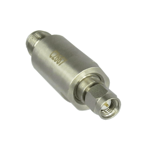 C2667 SMA/Male to TNC/Female 18 Ghz Coaxial Adapter Centric RF