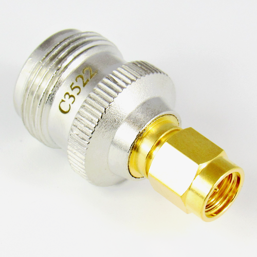 C3522 N/Female to SMA/Male 11 Ghz Coaxial Adapter Centric RF