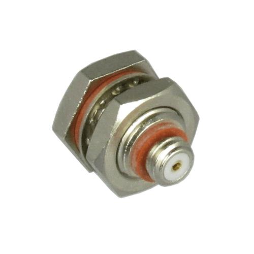 C9408 10-32/Female to 10-32/Female Bulkhead Coaxial Adapter Centric RF