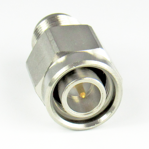 C2557 TNC Adapter 18Ghz Male to Female  VSWR 1.25  Pass S Steel