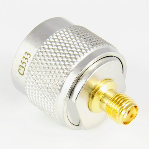 C3533 N/Male to SMA/Female Coaxial Adapter Centric RF