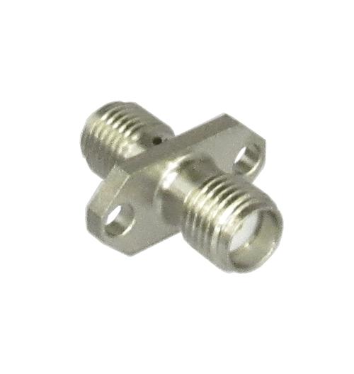 C3102 SMA/Female to SMA/Female 2 Hole Flange Coaxial Adapter Centric RF