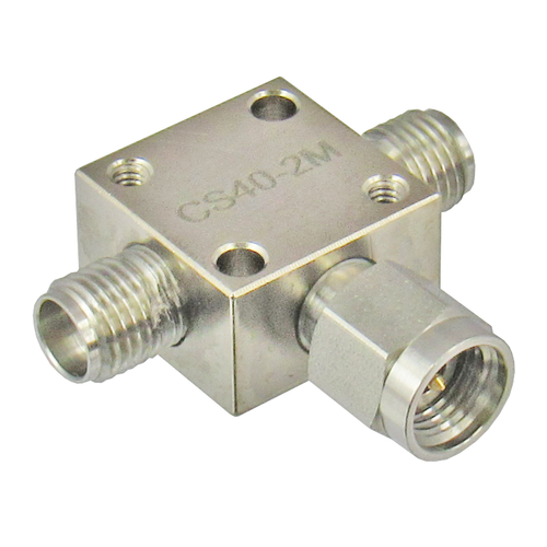 CS40-2M 2.92/Female/Male/Female Resistive Power Divider Centric RF