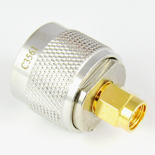 C3561 N/Male to SMA/Male Coaxial Adapter Centric RF