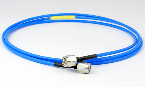 C581-086-48A SMA/Male to SMA/Male .086 48 inch Flexible Cable Centric RF