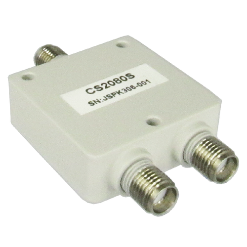 CS2080S SMA/Female 2-8 Ghz 2 Way Power Divider Centric RF