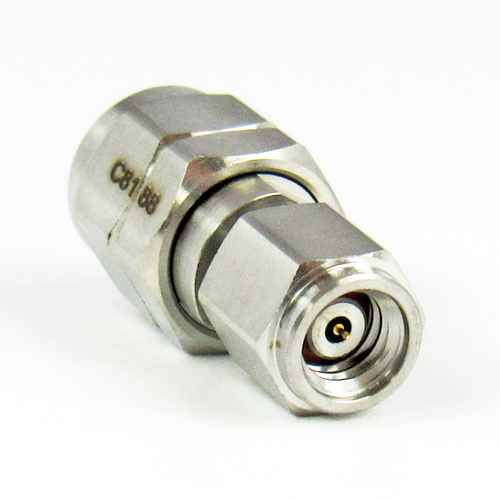 C8188 1.0mm Male to 1.85mm Male Adapter  VSWR 1.25  67Ghz