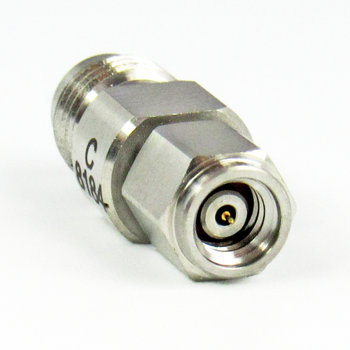 C8184  1.0mm Male to  1.85mm Female Adapter  VSWR 1.25 67Ghz
