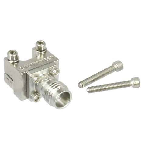 1492-04A-5 2.4/Female Edge Launch Connector Centric RF