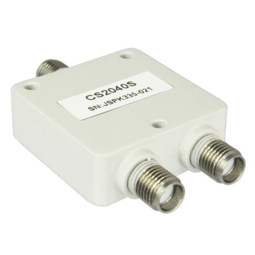 CS2040S SMA 2 Way Power Divider 2-4 Ghz Centric RF