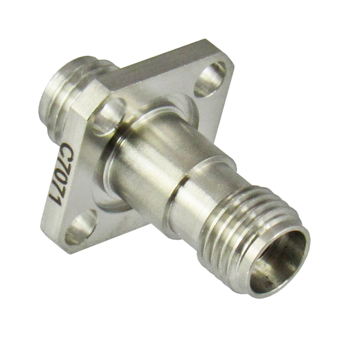 C7071 2.92/Female to 2.92/Female Flange Adapter Centric RF