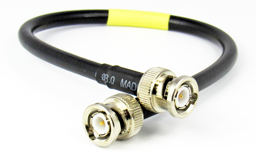 C521-240-12 BNC/Male to BNC/Male LMR240 12 inch Cable Assembly Centric RF