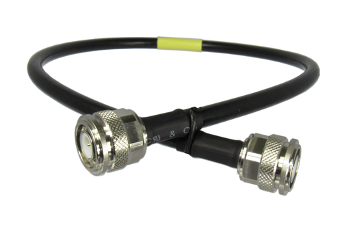 C537-240-12 TNC/Male to TNC/Male LMR240 12 inch Cable Assembly Centric RF