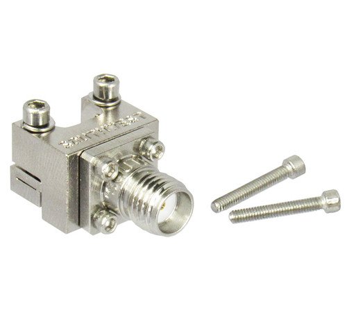 292-04A-5 SMA/Female End Launch Southwest Microwave Connector for .010 Pin .0635 Dielectric Centric RF