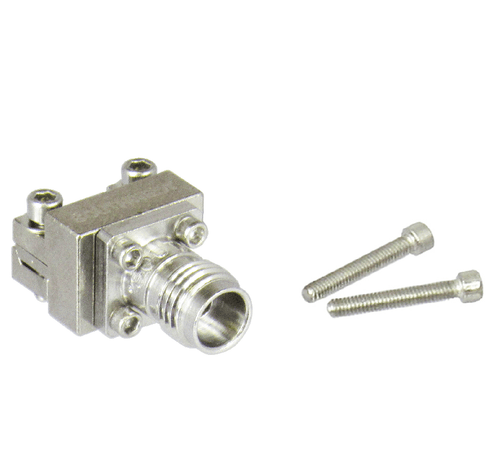 1492-04A-6 2.4/Female End Launch Connector for .0635 Dielectric with .005 Pin Centric RF