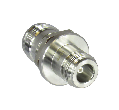 C8505 4.3/10 Female to N/Female Bulkhead Adapter Centric RF