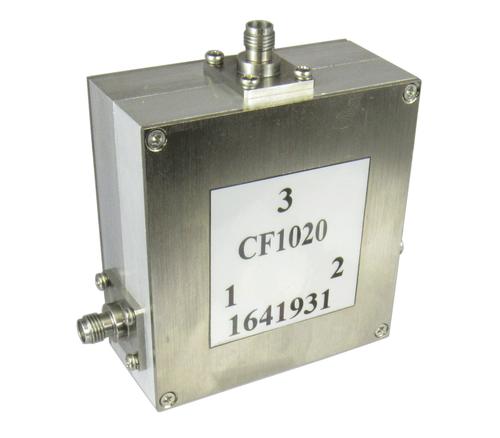 CF1020 SMA/Female 1 Ghz to 2 Ghz Circulator Centric RF