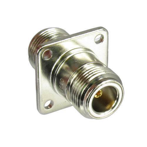 C5650 N/Female to N/Female Flange Adapter Centric RF