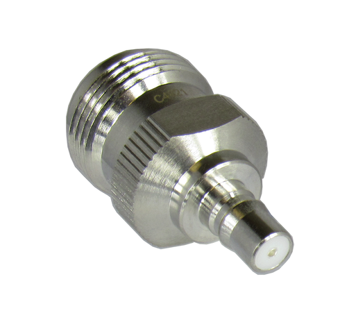 C4821 N/Female to QMA/Jack Coaxial Adapter Centric RF