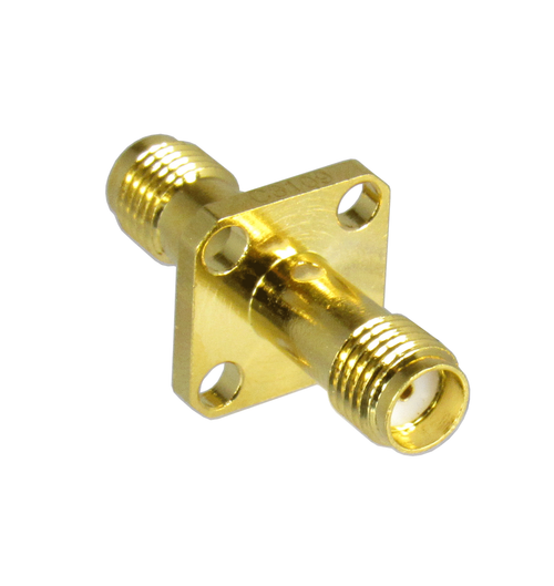 C3109 SMA/Female to SMA/Female Flange Adapter Centric RF