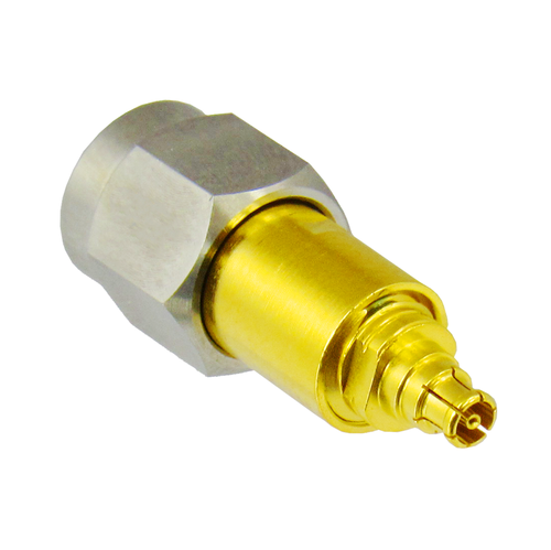 C4383 MiniSMP Female to 2.4mm Male Adapter VSWR 1.20 50ghz