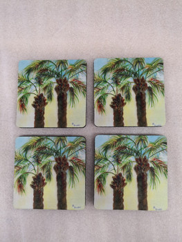 Betsy's Palm Coasters - Set of 4