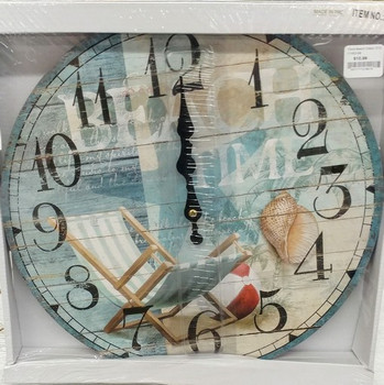 Beach Chairs Clock C1002-58