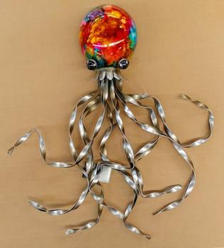 Metal Octopus Wall Decor