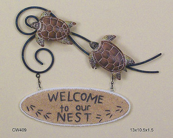 Welcome To Our Nest - Turtle