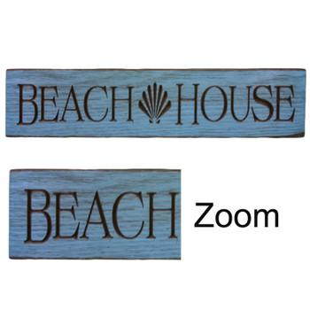 """24"""" USA BEACH HOUSE SIGN"""