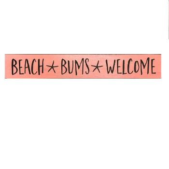 """24"""" USA BEACH BUMS SIGN"""