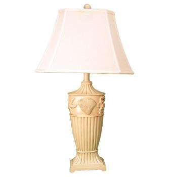"""30-1/2"""" SEASHELL TABLE LAMP"""