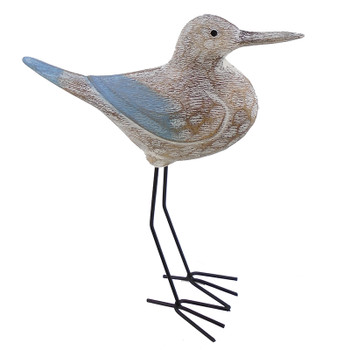 "11-3/4"" SEA BIRD ON METAL LEGS"