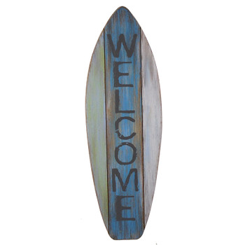 Welcome Surfboard Plq